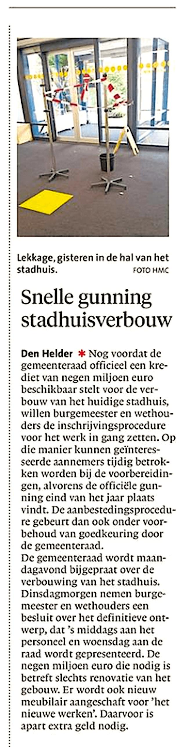 Noordhollands Dagblad – Succesvol Zeestad mag tweede ...