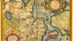 Ortelius - Tartariae sive Magni Chami Regni