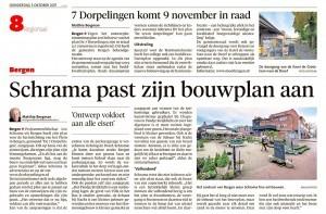Alkmaarse Courant, 5 oktober 2017