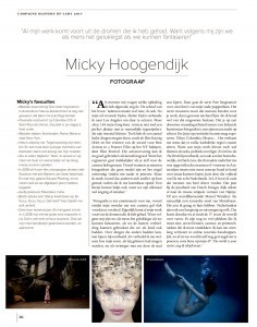 Campagne Masters of LXRY 2017 - Micky Hoogendijk, fotograaf Micky's favourites, p. 36