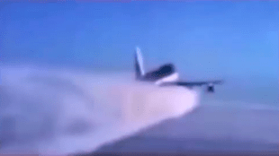 Chemtrail airplane (foto YouTube)