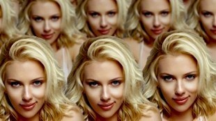 Clones Scarlett Johansson (foto Before It's News)
