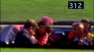 Frame 312 from the Zapruder Film (foto YouTube)