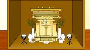 How to Set up a Kamidana (foto WikiHow)