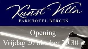 Kunst Villa Parkhotel Bergen Opening 20 oktober 20.30 u.