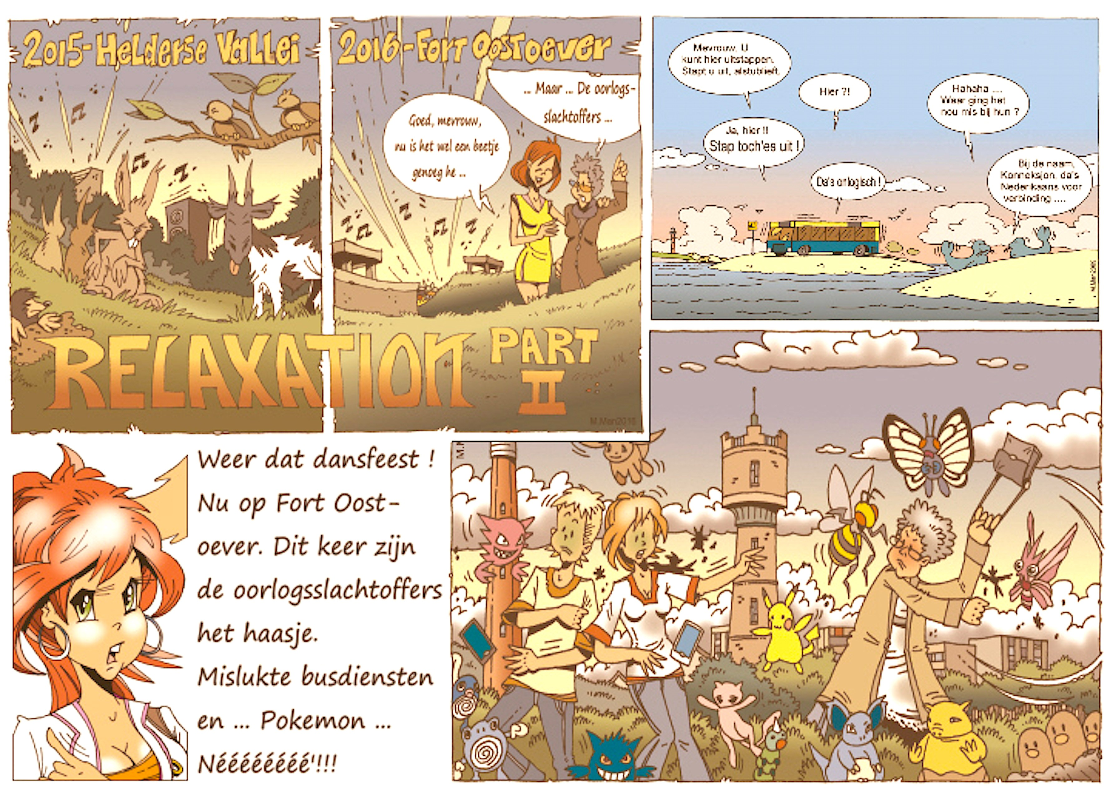 Martin Man – Sofietje's Helders Weekblad Cartoon-Chronicles (106): Weer dat dansfeest!
