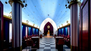 Masonic lodge, Alkmaar, the Netherlands (foto Flickr)
