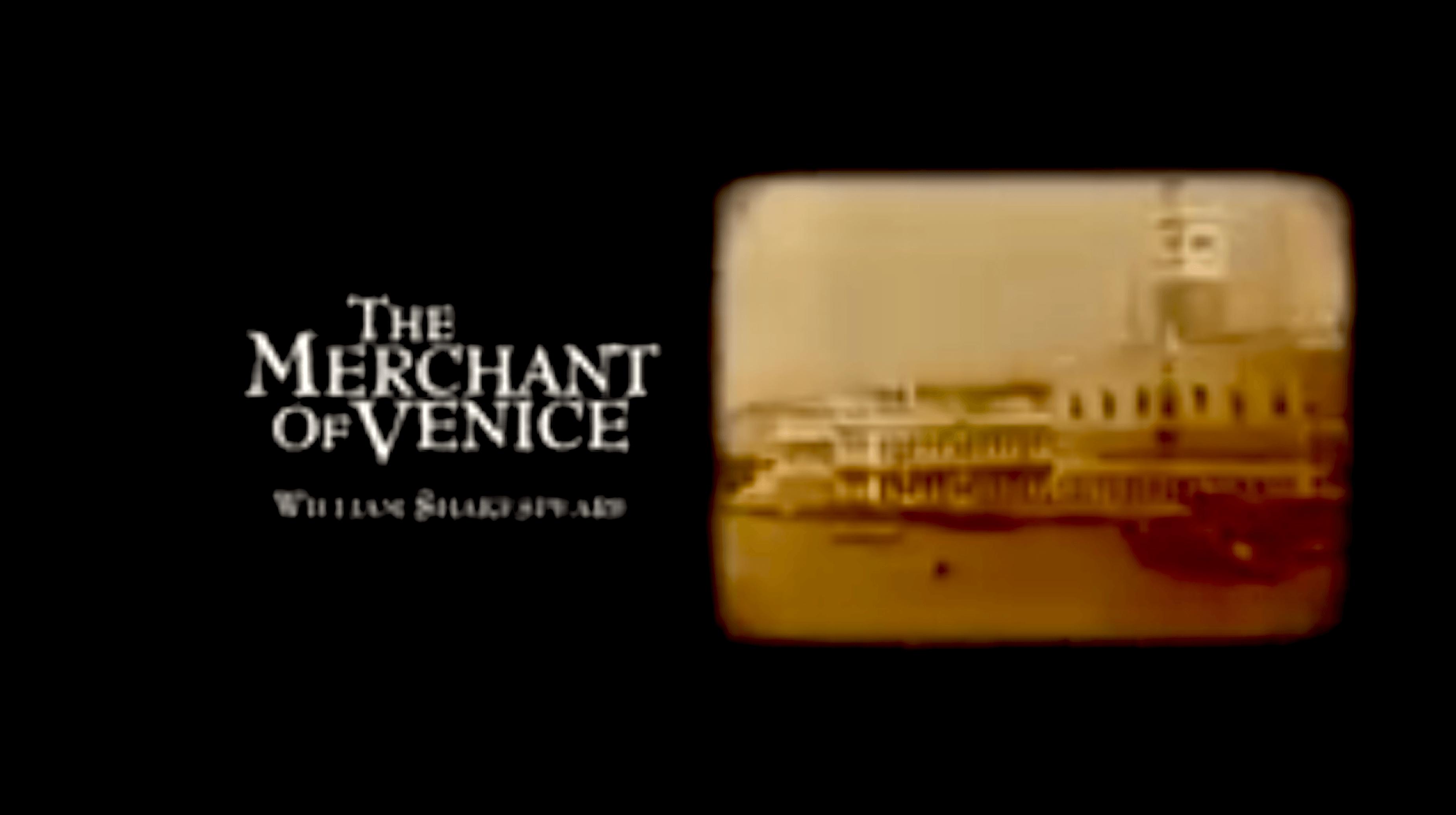 Merchant of Venice William Shakespeare (foto YouTube)