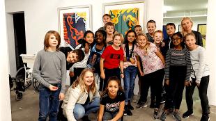 OBS De Kluft - Groep 8 in het Rob Scholte Museum