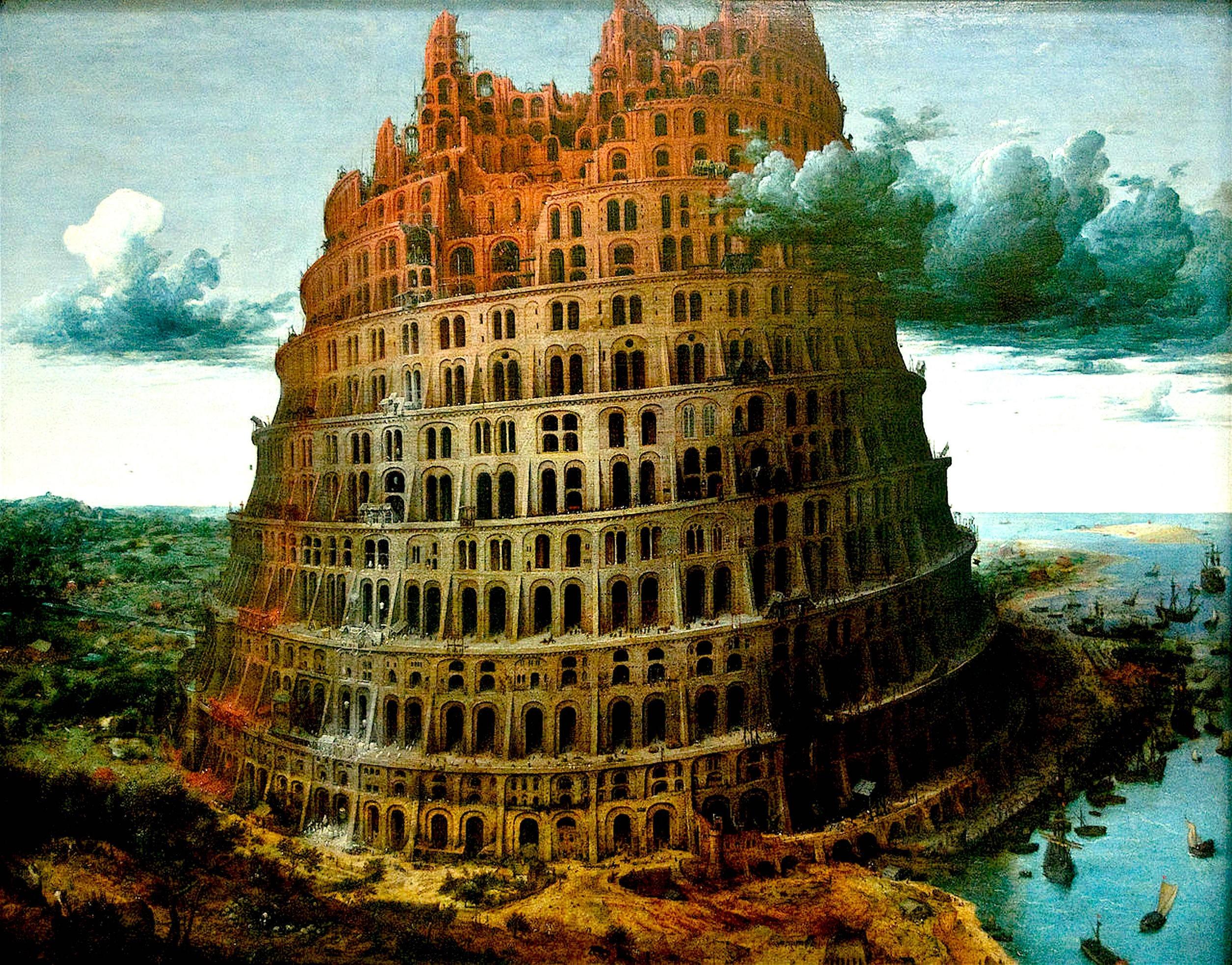 Pieter Brueghel de Oude – De toren van Babel (foto Wikipedia)