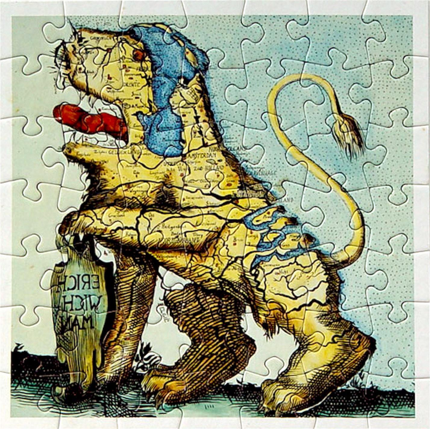 Rob Scholte – De Angst! Puzzle