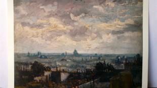Vincent van Gogh - Gezicht op Parijs