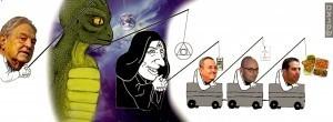 Yair Netanyahu - Cartoon