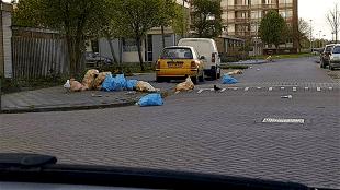 Afval in Den Helder (foto NH Nieuws)