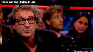 Frénk van der Linden bij DWDD (foto YouTube)