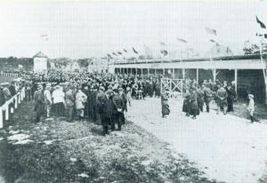Gemeentelijk sportpark Alkmaar in 1920 (Archief NDR)