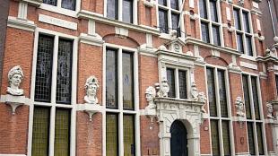 ''Huis met de Hoofden'' in Amsterdam (foto Nelissen Ingenieursbureau)