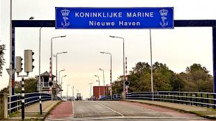 Koninklijke Marine Nieuwe Haven te Den Helder (foto Noortjes Voetstappen)