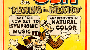 "Mutt and Jeff by Bud Fischer in ""Mixing in Mexico"" (foto Pinterest)"