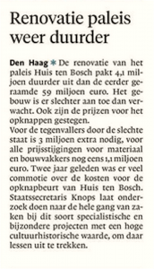 Noordhollands Dagblad, 14 november 2017