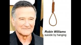 Robin Williams Suicide bij hanging (foto YouTube)