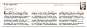 Kappers, Helderse Courant, 23 november 2017