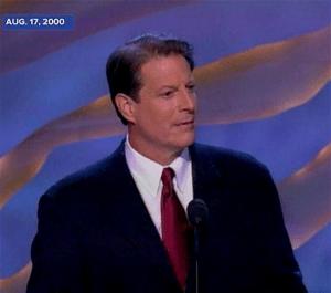 Al Gore Aug. 17, 2000 (foto ABCNews)