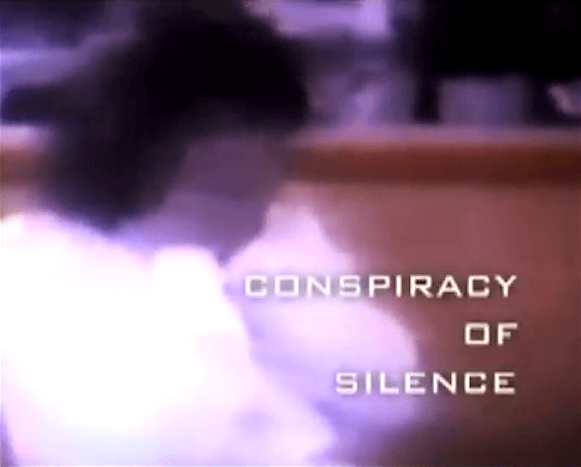Conspiracy of Silence (foto YouTube)