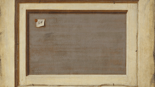 Cornelius Norbertus Gijsbrechts - Trompe l'oeil, The Reverse of a Framed Painting