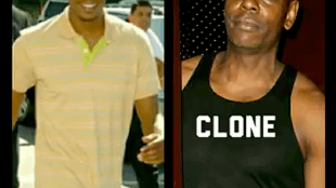 David Chappelle & clone (foto YouTube)