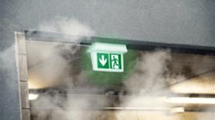 Deel ziekenhuis Den Helder dicht wegens rookontwikkeling (foto brandveilig.com)