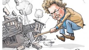 Frank Muntjewerf - De rotte plekkenbrigade van Cees Roem slaat hard terug