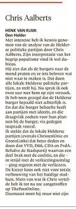Helderse Courant, 9 december 2017