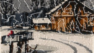 Rob Scholte - Sneeuwlandschap