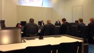 De zitting van 18 januari 2018 bij de Voorzieningenrechter van Rechtbank Noord Holland locatie Alkmaar (foto Staf RSMuseum)