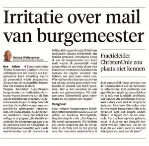 Helderse Courant, 4 januari 2018