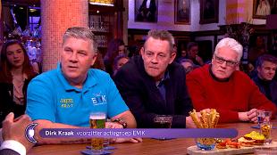 Dirk Kraak, voorzitter actiegroep EMK, bij RTL Late Nightshow (foto RTL)