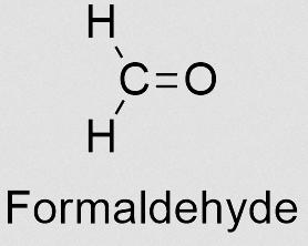 Formaldehyde (foto SoftSchools)