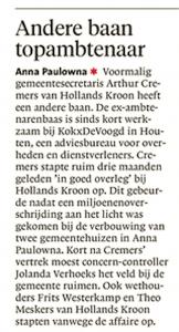 Helderse Courant,22 januari 2018