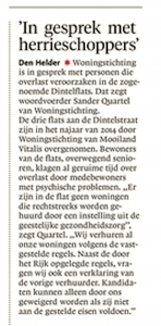 Helderse Courant, 6 januari 2017