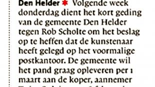 Helderse Courant, 11 januari 2018