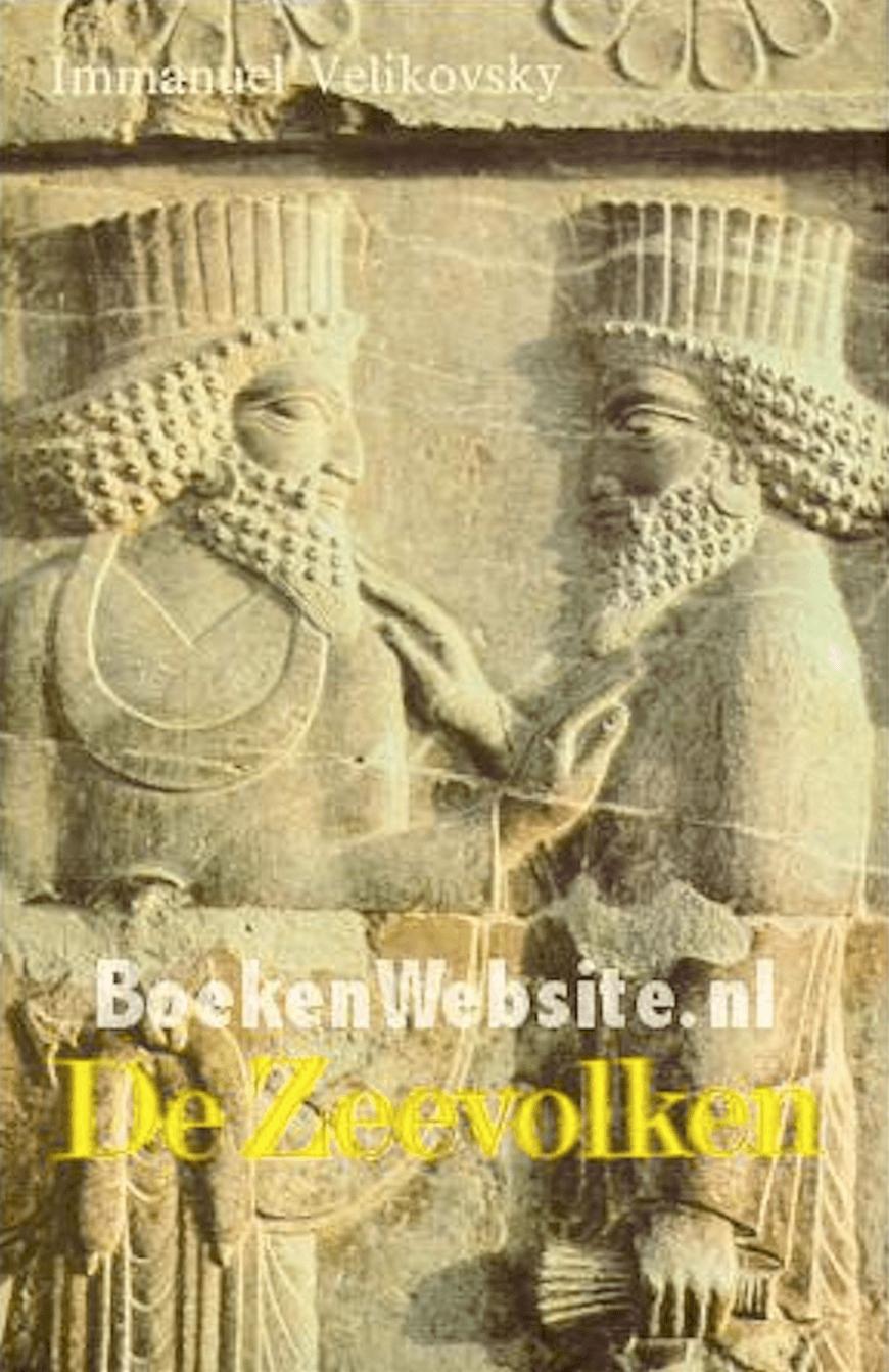 Immanuel Velikovsky – De Zeevolken (foto BoekenWebsite)