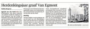 Alkmaarse Courant, 10 januari 2017