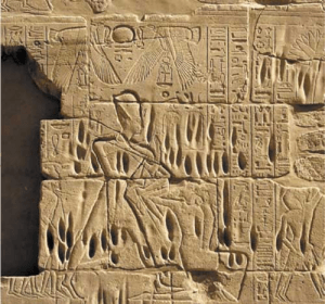 Merenptah binds the Shasu (foto Mike Luddeni)