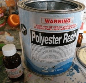 Polyester Resin (foto eHow)
