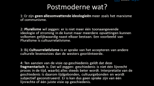 Postmodernisme wat? (foto SlidePlayer)