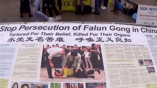 Stop Persecution of Falun Gong in China Tortured For Their Belief, Killed For Their Organs (foto YouTube)