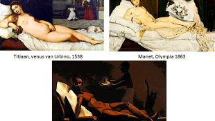 Titiaan, Manet & Scholte (foto SlidePlayer)