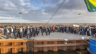 Binnenhaventerrein Kooyhaven in Den Helder officieel geopend (foto DHA)