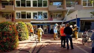Brand in stadhuis Den Helder (foto DHA)
